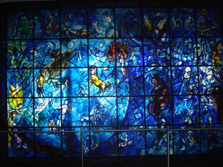 Mosaico de cristal- sede da ONU - NYC