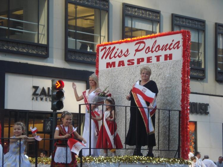 Miss Polônia na 5 AVE - NYC