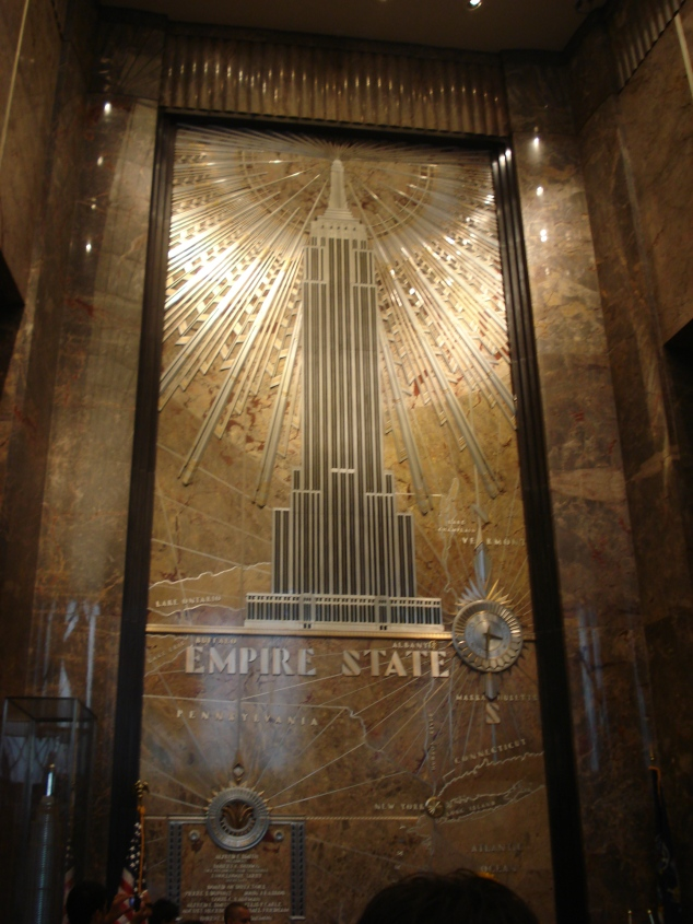 Interior do Empire State Building