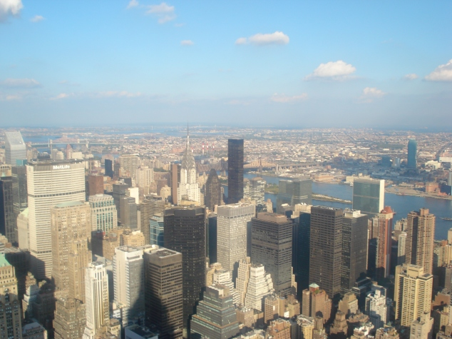 NY vista do Empire State