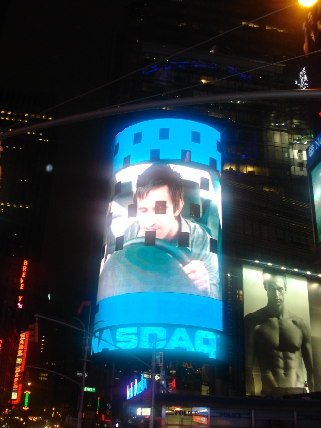 Nasdq - Times Square - NYC